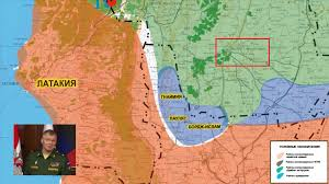 Syria On The Map by Russian Military Officials Prove Russia Will Not Adhere To The