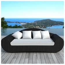 canape en resine exterieur besoin d air canapé extérieur blanc cassé 3 places piscine