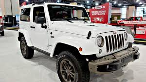 2017 jeep wrangler and wrangler 2017 jeep wrangler 75th anniversary truck review youtube