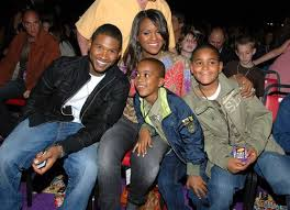 is michelle grace harry african american family of confessions star usher raymond iv