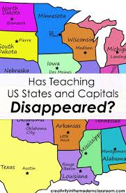 Map Of Usa Quiz by Best 25 States And Capitals Ideas On Pinterest Homeschool