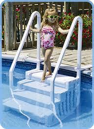 wedding cake pool steps above ground pool step buyer s guide intheswim pool