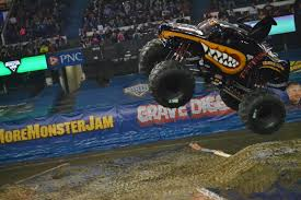 monster truck show january 2015 monster mutt rottweiler begins the night in the wheelie
