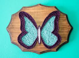 made to order butterfly string art string art animal