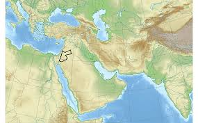 New Middle East Map by Geo Expro Petroleum Systems In Jordan