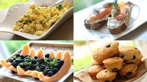 ideas for a brunch brunch menu for