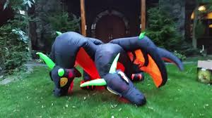 airblown halloween reviewing the 2017 airblown halloween inflatable 14ft bjs dragon