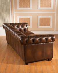 Amax Hickory Leather Chesterfield Sofa  Reviews Wayfair - Hickory leather sofa