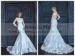 blue mermaid style wedding dress u2013 dress ideas