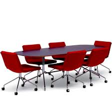 White Gloss Meeting Table Interior Modern Cool Conference Table With Blue Glass Rectangular