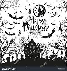 happy halloween sign black and white black and white halloween sign pictures to pin on pinterest