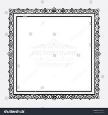 vintage vector set retro frame cards stock vector 609066878