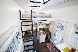 tiny home with giant skylights in utah dream big live tiny co