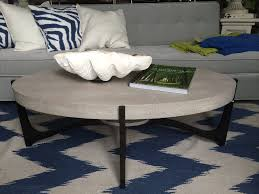 dominick oval faux shagreen coffee table mecox gardens