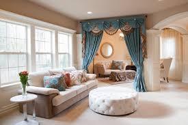 beautiful white blue glass modern design window curtain bedroom