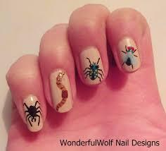 insect nail art u2013 wonderfulwolf