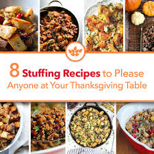 8 recipes to anyone at your thanksgiving table