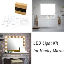 Lighting For Vanity Makeup Table Dressing Tables With Mirror And Lights U2013 Vinofestdc Com