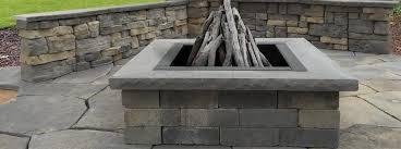 Brick Fire Pit Kit by Verona Fire Pit Kit Nicolock Pavers