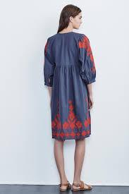 jora collection jora embroidered peasant dress