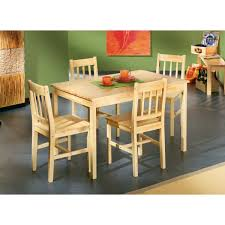 table cuisine pin massif ensemble table 4 chaises en pin massif achat vente table à