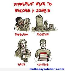 Zombie Memes - different ways to become a zombie memes math easy solutions