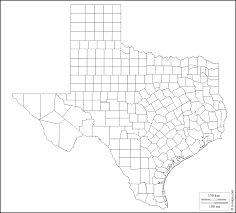 Blank County Map by Texas Free Map Free Blank Map Free Outline Map Free Base Map