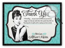 breakfast at s bridal shower breakfast at s bridal shower thank you card di 1511ty