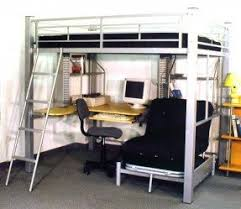 How To Build A Loft Bed With Desk Underneath by Futon Bunk Bed With Desk Foter