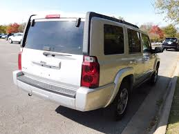 jeep commander 2013 2006 used jeep commander 4dr 4wd at toyota of fayetteville serving