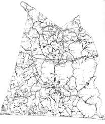 County Map Kentucky Road Map