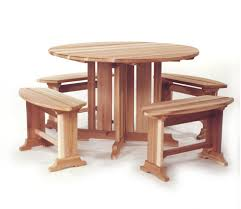 Cedar Patio Furniture Plans Diy Round Cedar Patio Table Plans Wooden Pdf Building Plans Mini