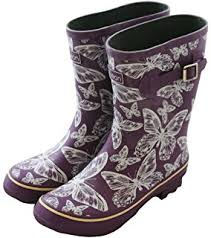womens boots size 11 wide width amazon com jileon wide calf rubber boots for