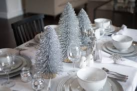 Table Decorations For Christmas by Setting Up The Christmas Table Decorations Kelsey Bang