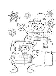 Spongebob Christmas Coloring Pages 316278 Coloring Pages Sponge Bob