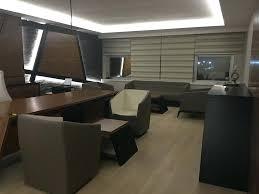 maxi bureau bureau designe bureau design blanc et noir laqu rangements ct