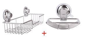 Storage Shelves For Bathroom by Shelf Design Ergonomic Suction Bathroom Shelf Suction Cup
