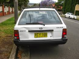 old subaru hatchback aussie old parked cars 1989 subaru l series 4wd wagon