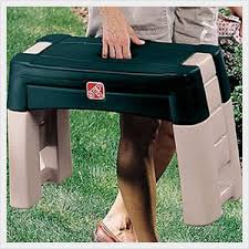 this garden kneeler will let you kneel sit or stand while