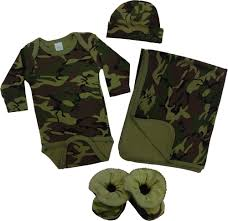 army pattern clothes army camo baby clothes gift set 4 pc baby milano