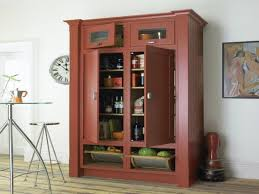 kitchen cool standing pantry white pantry cabinet lowes