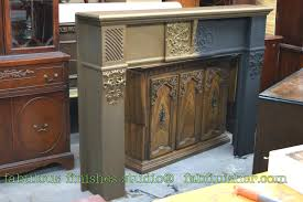Painting Brass Fireplace Doors Fabulously Finished