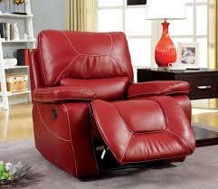 White Leather Recliner Chair Sensational Red Leather Recliner Chair About Remodel Modern Chair