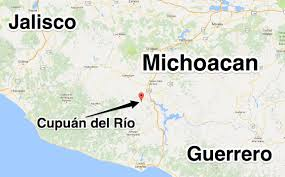 Colima Mexico Map by Knights Templar Criminals Shoot Down Helicopter In Tierra Caliente
