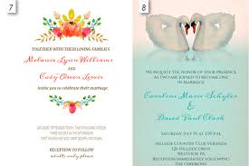Marriage Invitation Sample Wedding Invitation Editable Template Pacq Co