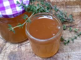 la recette de cuisine com recette gelée de thym au vinaigre balsamique cuisinez gelée de thym