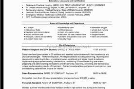 Sample Resume For Lpn New Grad by Sample New Grad Lvn Resume Cover Letter For Lvn Resume Cv Cover