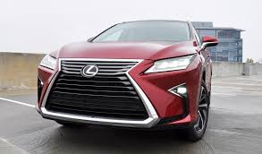 lexus rx 350 luxury package first drive videos 2016 lexus rx350 and rx450h f sport