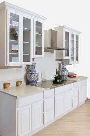 best price rta kitchen cabinets belmore white cabinets with a touch of glass doors