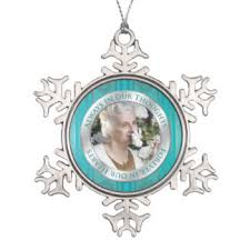 in memoriam ornaments keepsake ornaments zazzle